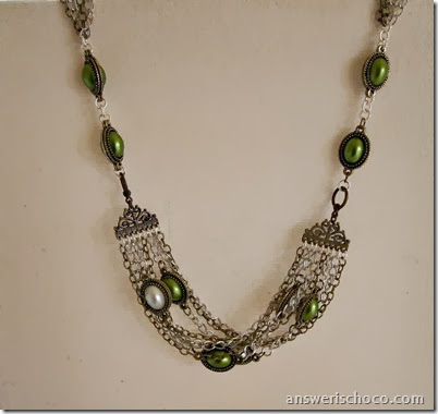 Celtic Multi Strand Necklace 1