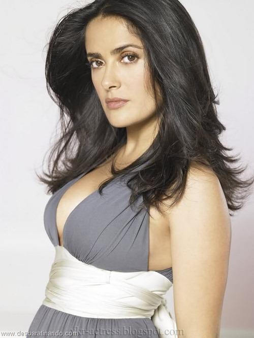 salma hayek linda sensual sexy sedutora gostosa peituda boob tits desbaratinando  (20)