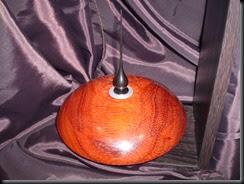 Infiernillo en madera de coralillo y terminación en ébano