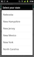 Screenshot of USA Lotto Results