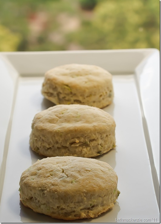 chive and leek biscuits16