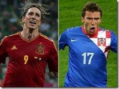 españa vs croacia Eurocopa