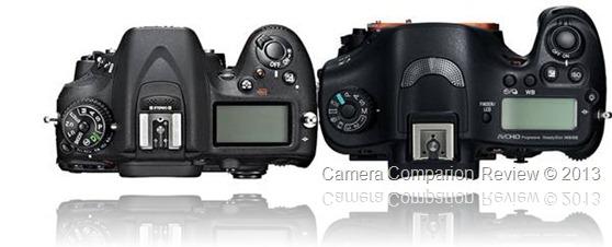 Nikon D7100 vs Sony SLT-A99