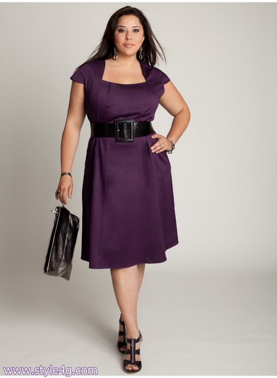 Casual Dresses For Plus Size Women - Holiday Dresses