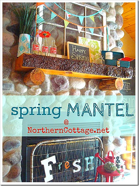 northern cottage spring mantel 2