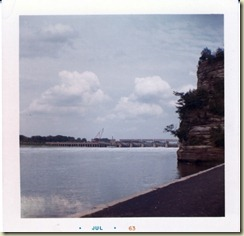 1963 July Petenwell Rock and Dam