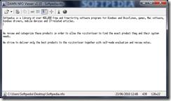 برنامج فتح ملفات .info الأنفو DAMN NFO Viewer - سكرين شوت 1