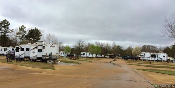 Shady Pines RV Park Texarkana TX 1 03222015