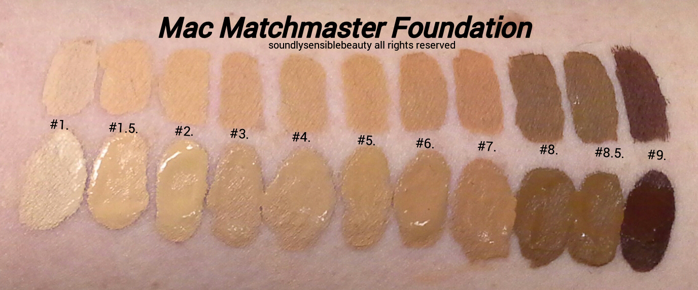 Mac matchmaster foundation review swatches of shades mac matchmaster foundation shade matchingtone adjusting makeup swatches publicscrutiny Choice Image