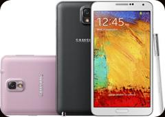 Keinonahkainen takaosa tuo hyvän pidon Galaxy Note 3:lle.