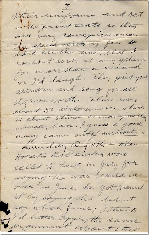 4 Aug 1918 5
