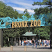 Entrance gate to the Bronx Zoo