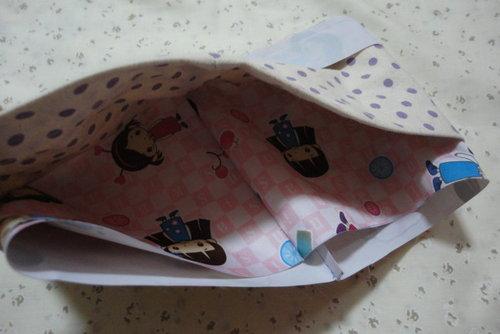 12 內 束 口 布 表 布 與 便當 袋 裡 布 正面 對 正面 ...