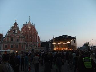 Carmina Burana en el centro de Riga