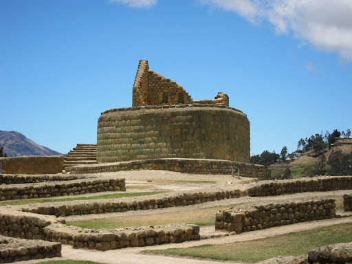 Temple of the Sun at Ingapirca ruins