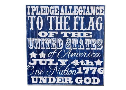 Pledge Allegiance Subway