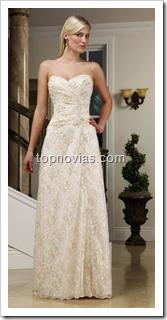 Vestidos de novia Corte Princesa y Corte A