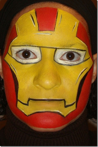 maquillaje de iron man (23)