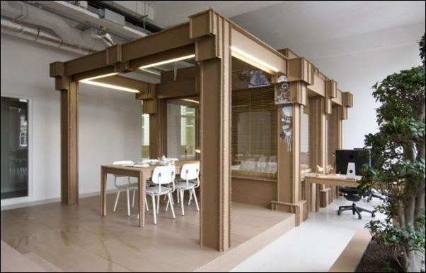 Des bureaux en carton (10)