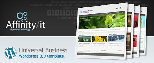 Universal Business Wordpress Template - Business Corporate