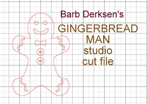 Barb Derksen_Gingerbread Man