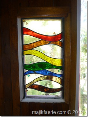 30 rainbow window