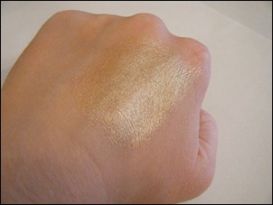 Coastal Scents Shadow Worx Shimmer Eye Primer Swatch