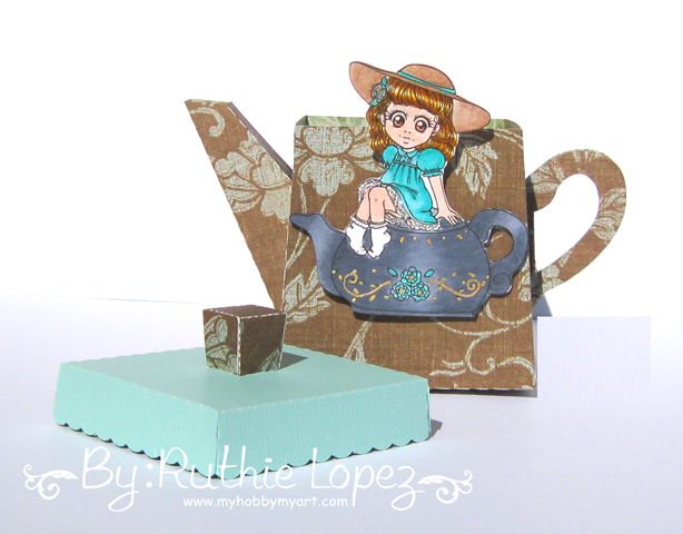 Zuri Artsy Craftsy - Mila - Teapot - tetera - Ruthie Lopez 3
