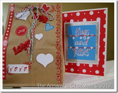Brown Paper Packages Valentines