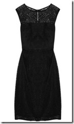 Milly Black Lace Dress
