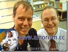 DSC00495 (1) Astronaut Christer Fuglesang   Fredrik Vesterberg i universum (1) med amorism