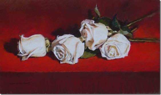 Tus cuatro rosas-German-Aracil-Enkaustikos