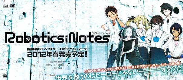 Roboics;Notes