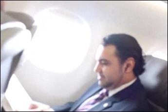 Marco Feliciano no avião