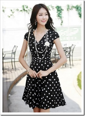 black-new-korean-fashion-women-dot-chiffon-dress-h6168b-34