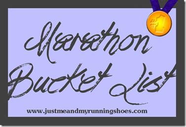 Marathon Bucket List