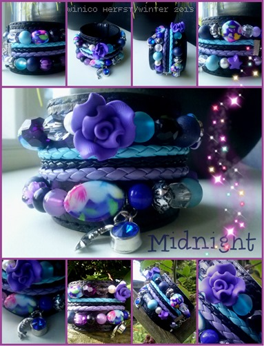 collage winico armband wintercollectie 2013 midnight