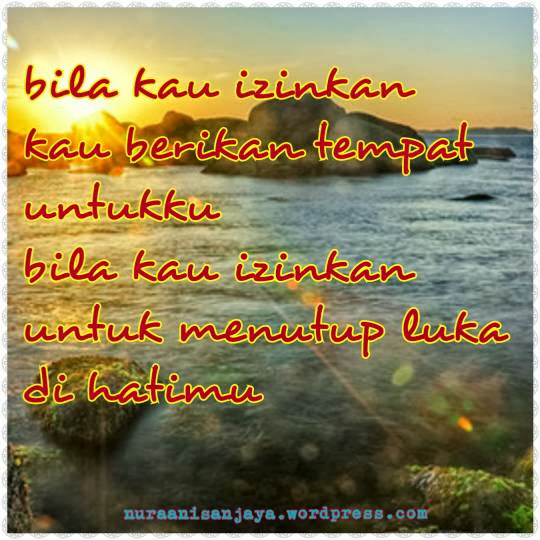 Wallpaper kata2 romantis