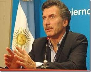 Mauricio Macri YPF