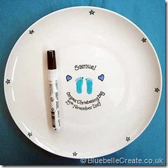 Baptism Gift Plate