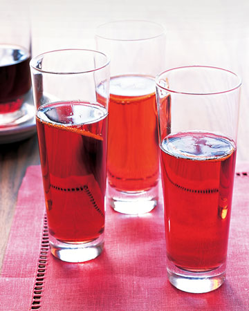 Kir Royales: Creme de cassis is added to Champagne to create this beautiful, tasty cocktail that's perfect for a holiday celebration.