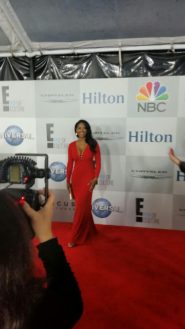Kenya Moore at the 2015 Golden Globes NBC After Party