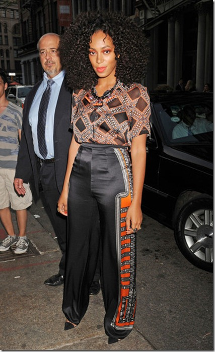 Solange Knowles Celebs 2012 Tribeca Ball NYC 53k88W5X4-Il