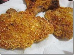 breaded pork chops, 240baon