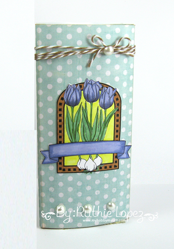 Beccy´s Place - Spring Tulips - Latinas Arts and Crafts - Ruthie Lopez - My Hobby My Art 2