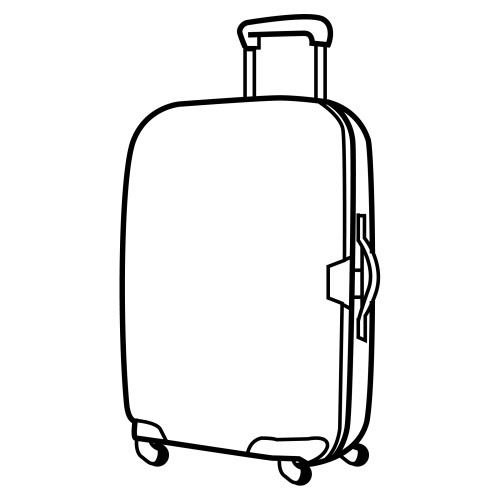 Suitcases Coloring