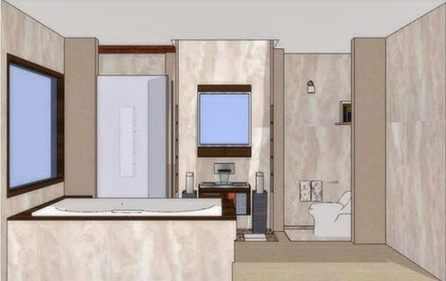 Desain Kamar Mandi Minimalis Kecil