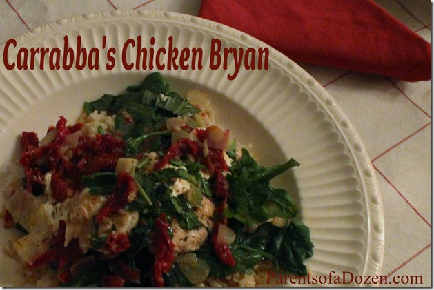 Carrabba's Chicken Bryan