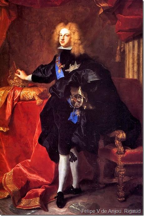 Felipe V de Anjou.