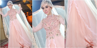 Baju Pengantin Muslimah Ala Syahrini  Vemale.com